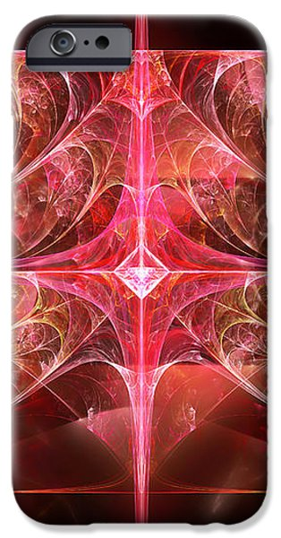 Fractal - Abstract - The essecence of simplicity iPhone Case by Mike Savad