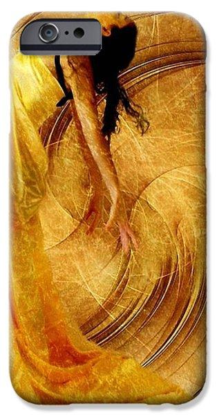 Fractal dance of joy iPhone Case by Gun Legler