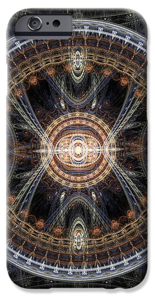 Fractal inception iPhone Case by Martin Capek