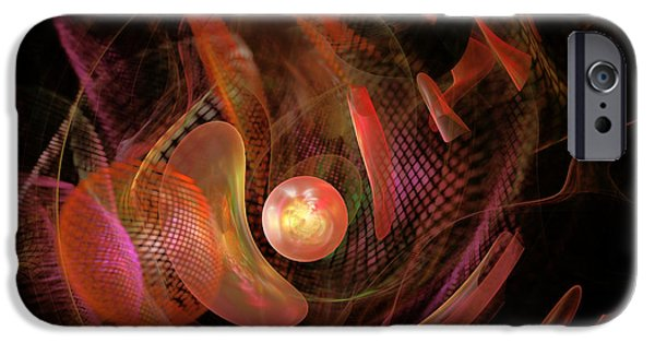 Miracle iPhone Cases - Fractal - Life Origins iPhone Case by Mike Savad