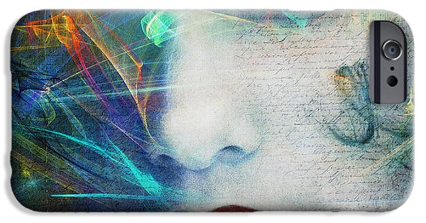 Digitally Created iPhone Cases - Fragrance of Love iPhone Case by Edmund Nagele
