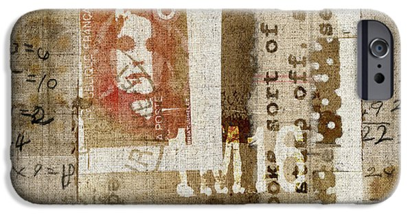 Mathematic iPhone Cases - France 1M16 Collage iPhone Case by Carol Leigh