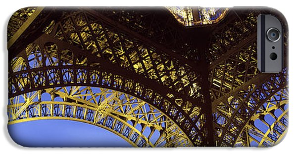 Stability iPhone Cases - France, Paris, Eiffel Tower iPhone Case by Panoramic Images
