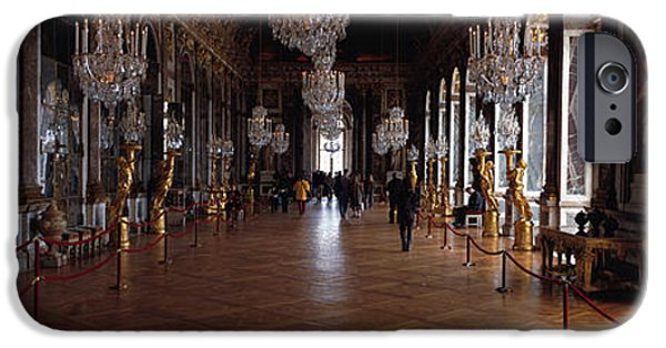 Decor Photography iPhone Cases - France, Paris, Versailles iPhone Case by Panoramic Images