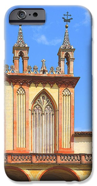 Franciscan Monastery In Nice France iPhone Case by Ben and Raisa Gertsberg