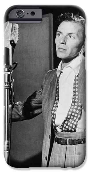Frank Sinatra iPhone Case by Mountain Dreams