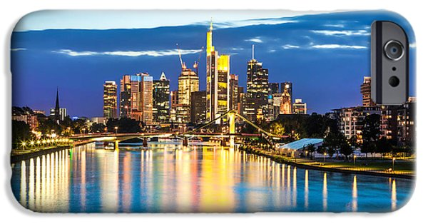 Recently Sold -  - Business iPhone Cases - Frankfurt am Main iPhone Case by JR Photography