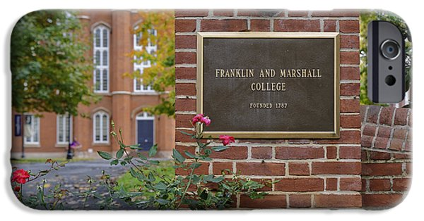 Recently Sold -  - Franklin iPhone Cases - Franklin and Marshall  iPhone Case by John Greim
