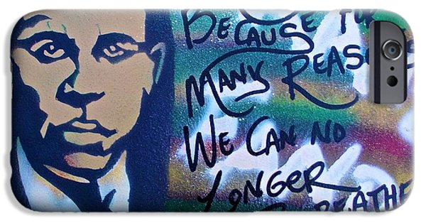 Psychiatry Paintings iPhone Cases - Franz Fanon iPhone Case by Tony B Conscious