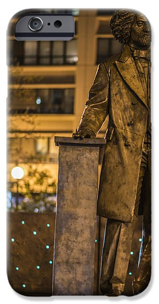 Frederick Douglass iPhone Case by Theodore Jones