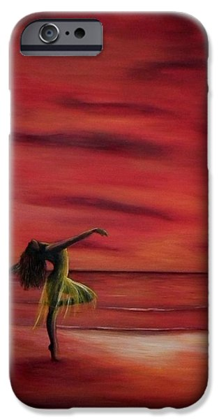 Ballet Dancers iPhone Cases - Free iPhone Case by Lisbeth M Sandvik