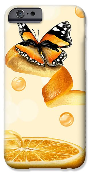Freed Paintings iPhone Cases - Free play iPhone Case by Veronica Minozzi