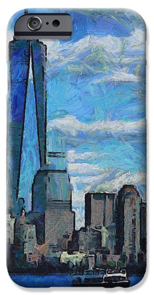 Skylines Mixed Media iPhone Cases - Freedom Isnt Free iPhone Case by Dan Sproul