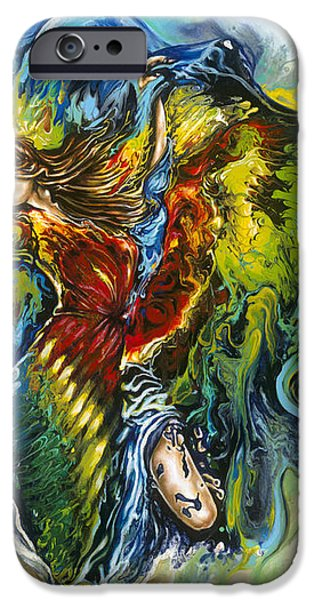 Freedom iPhone Case by Karina Llergo Salto