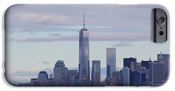 Twin Towers Nyc iPhone Cases - Freedom Tower iPhone Case by Andrew Romer