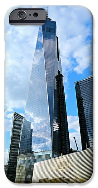 One iPhone Cases - Freedom Tower iPhone Case by Stephen Stookey