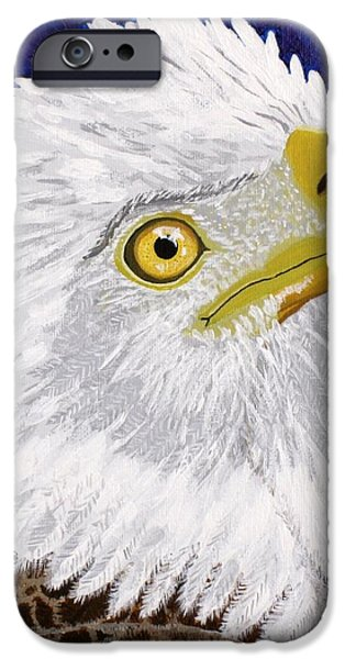 Freedom's Hope iPhone Case by Vicki Maheu