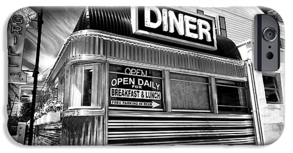 Best Sellers -  - Stainless Steel iPhone Cases - Freehold Diner iPhone Case by John Rizzuto