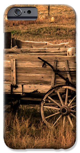 Freight Wagon iPhone Case by Robert Bales