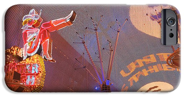 Electrical iPhone Cases - Fremont Experience Las Vegas Nv Usa iPhone Case by Panoramic Images