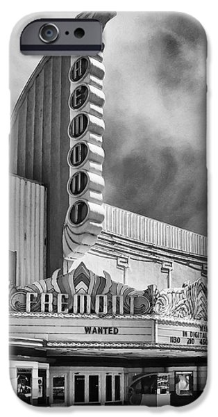 Treasure Box iPhone Cases - Fremont Theater iPhone Case by Ron Regalado