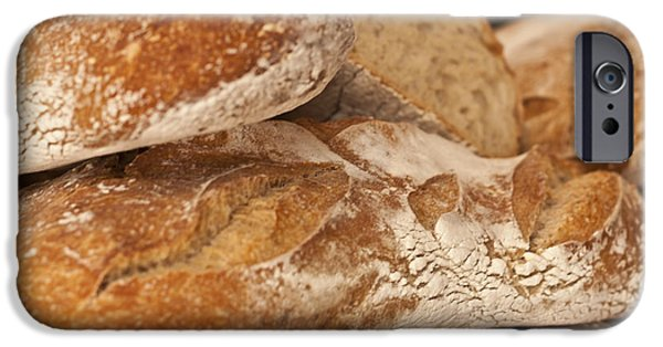 Food Paining iPhone Cases - French Bread iPhone Case by Nomad Art And  Design