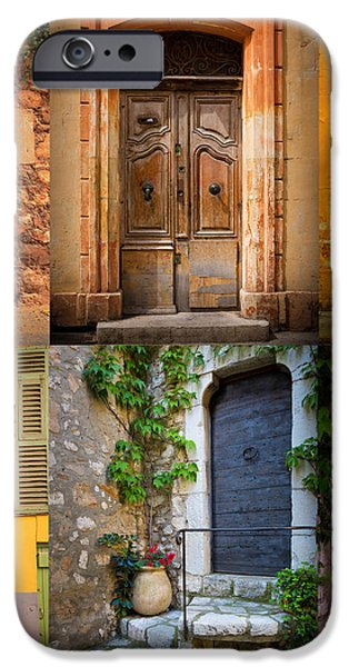 French Doors iPhone Case by Inge Johnsson