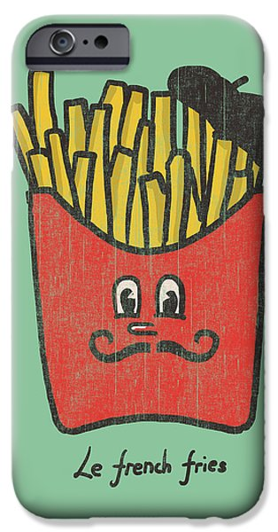 French Fries iPhone Case by Budi Satria Kwan