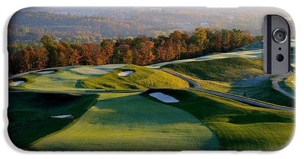 Southern Indiana iPhone Cases - French Lick Resort Dye Course iPhone Case by Ken  May
