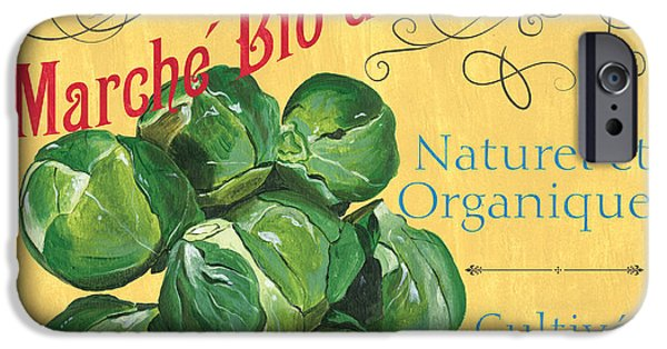 Grow iPhone Cases - French Market Sign 1 iPhone Case by Debbie DeWitt