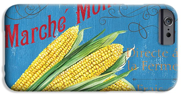 Grow iPhone Cases - French Market Sign 2 iPhone Case by Debbie DeWitt