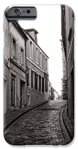 French Street iPhone Case by Olivier Le Queinec