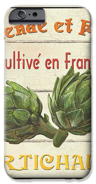 French Vegetable Sign 2 iPhone Case by Debbie DeWitt
