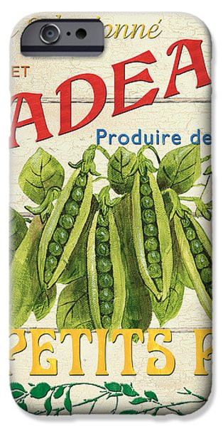 French Veggie Sign 1 iPhone Case by Debbie DeWitt