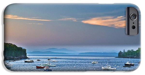 Sea iPhone Cases - Frenchmans Bay Bar Harbor  iPhone Case by Gary Keesler