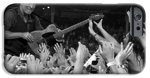 E Street Band iPhone Cases - Frenzy at Fenway II iPhone Case by Jeff Ross