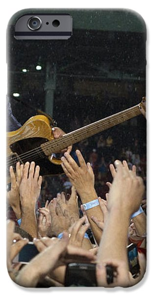 Frenzy at Fenway iPhone Case by Jeff Ross