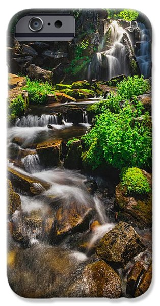 Snow Melt iPhone Cases - Fresh And Free Flowing iPhone Case by Gene Garnace