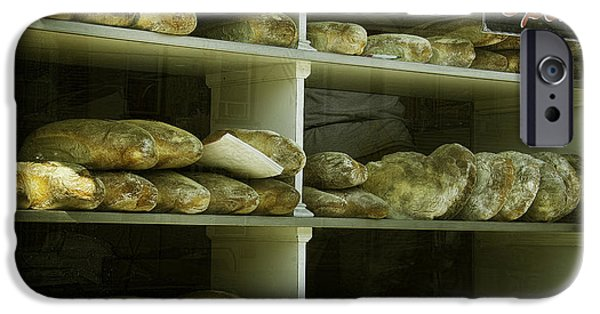 Loaf Of Bread iPhone Cases - Fresh Baked Bread iPhone Case by Ray Summers Photography