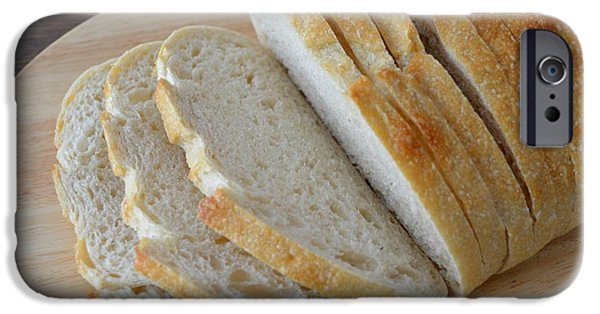 Loaf Of Bread iPhone Cases - Fresh Baked Sourdough iPhone Case by Mary Deal