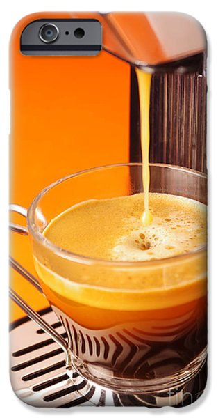 Appliance iPhone Cases - Fresh Espresso iPhone Case by Carlos Caetano