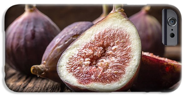 Crops iPhone Cases - Fresh Figs iPhone Case by Edward Fielding