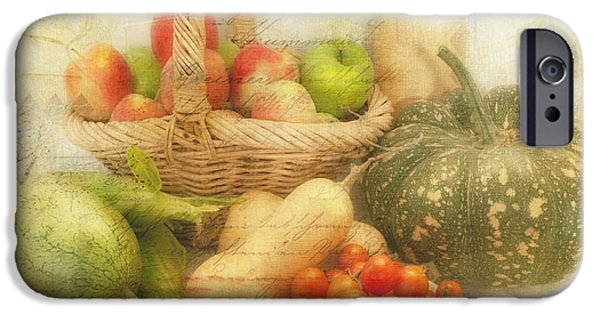 Lindalees iPhone Cases - Fresh from the Garden iPhone Case by Linda Lees