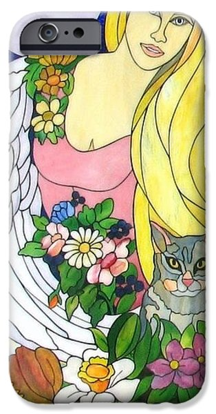 Print Glass iPhone Cases - Freya iPhone Case by Suzanne Tremblay