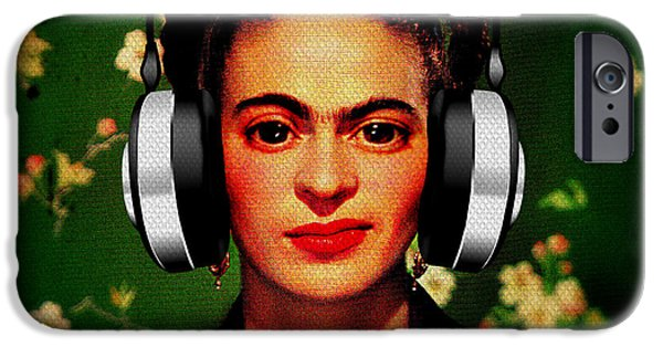 Recently Sold -  - Iraq iPhone Cases - Frida Jams iPhone Case by Michelle Dallocchio