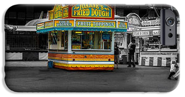 Selective Color iPhone Cases - Fried Dough iPhone Case by Bob Orsillo