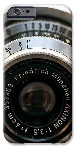 Friedrich Munchen iPhone Case by John Rizzuto