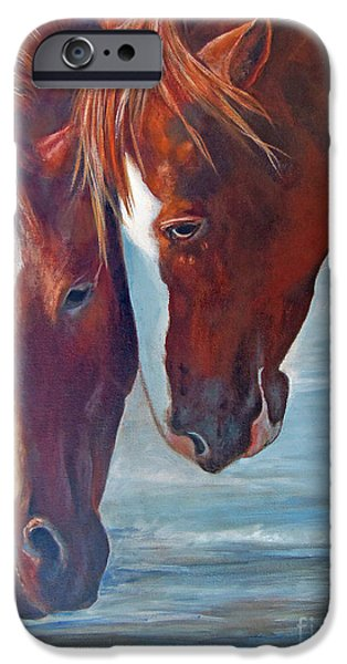 Chatham iPhone Cases - Friends For Life iPhone Case by Karen Kennedy Chatham