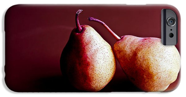 Pears iPhone Cases - Friends iPhone Case by Jan Bickerton
