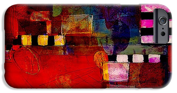 Colorful Mixed Media iPhone Cases - Friends iPhone Case by Marvin Blaine